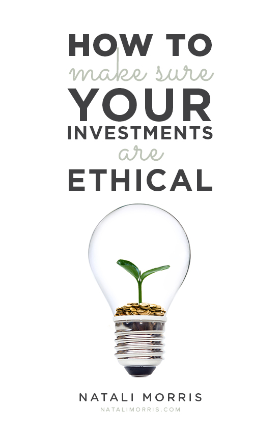 ethical investing words